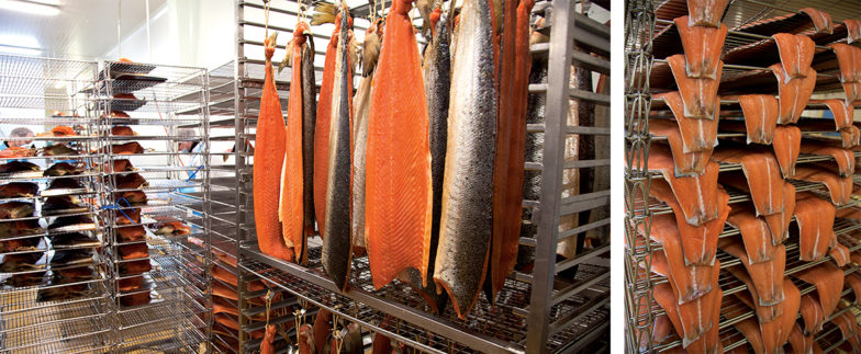 Affinage saumon fumé - marcel baey