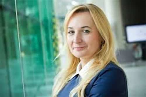 L'arrivée de Monika Siecińska-Jaworowska