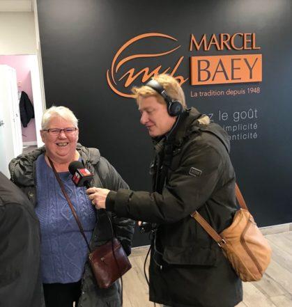 L'interview de radio 6 chez Marcel Baey