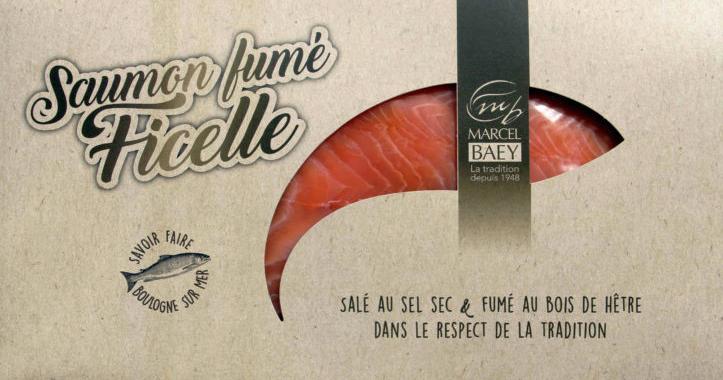 LE SAUMON FUMÉ FICELLE - MARCEL BAEY