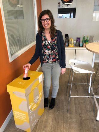 nouveau partenariat avec la société RECYGO pour le  recyclage déchets de bureau
