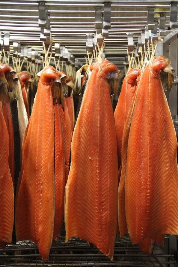 saumon ficelle fumé
